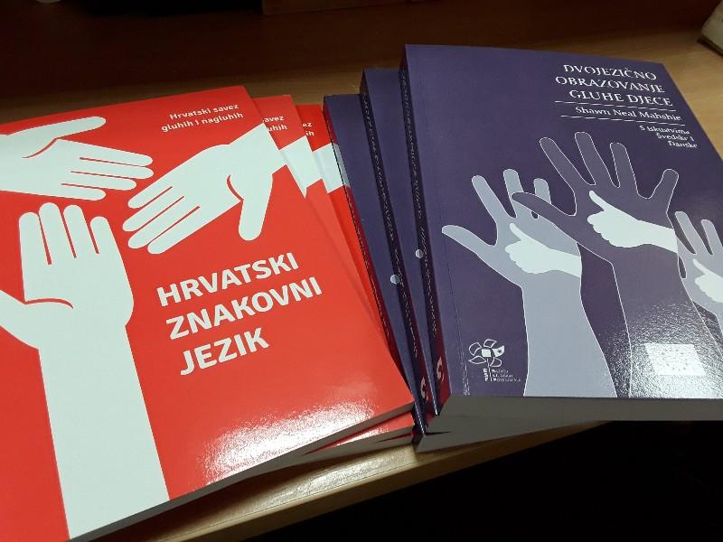 Hrvatski znakovni jezik knjige