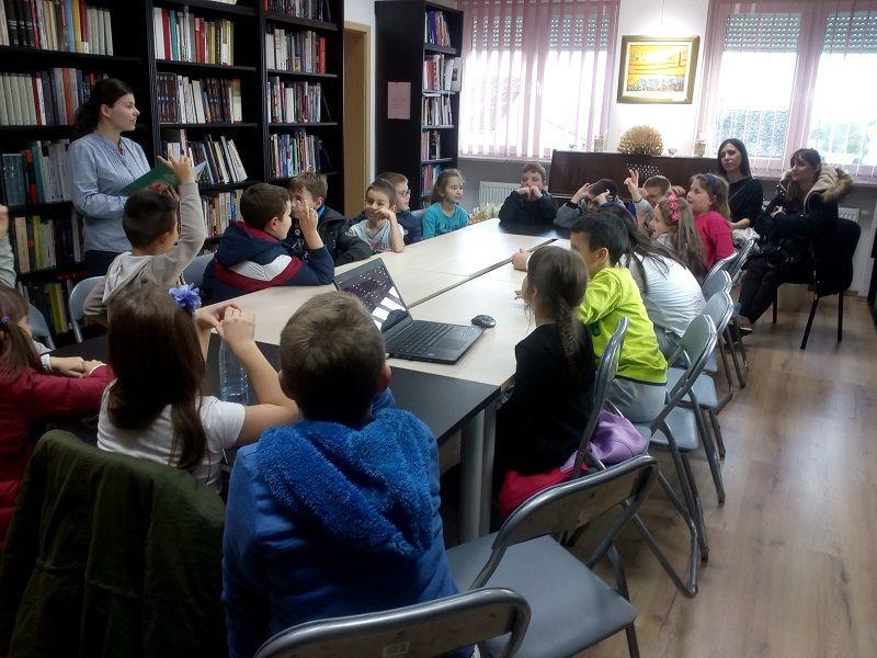 Posjet 2. razreda OŠ Vladimir Nazor