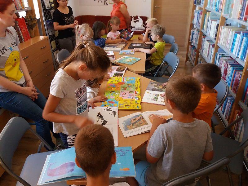 Posjet predškolaraca Knjižnici